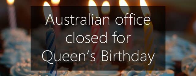 Queen's birthday 2015