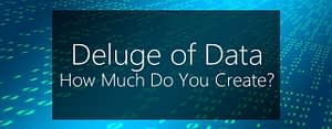 deluge of data - data backup