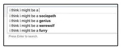 Funny Google Searches Werewolf