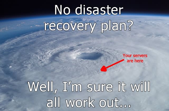 business backup disaster recovery