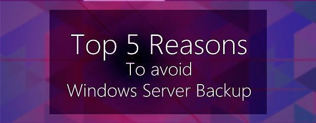 Top 5 Reasons