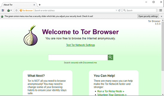 The Tor Browser is used to view the Dark Web.