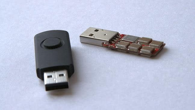 infected USB sticks aren't the only threat