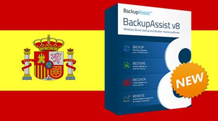 BackupAssist in Spanish