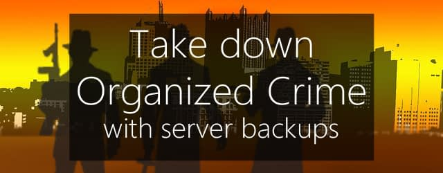 server backups defeat cryptoviruses