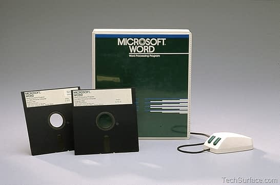 Microsoft Word 1.0 - A History
