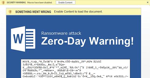 Cerber virus hits microsoft office 365 users