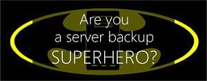 server backup superhero
