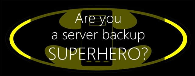 server backup superhero