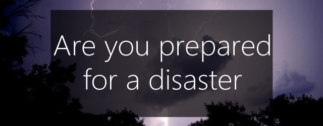 prepared_disaster