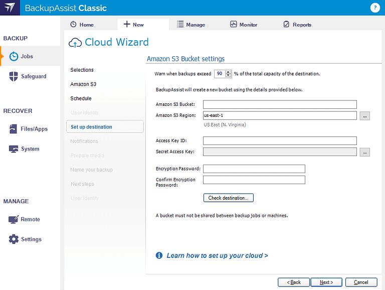 cloud-backup-setup-amazon-s3
