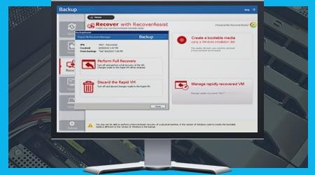 Rapid VM Recovery - BackupAssist v9
