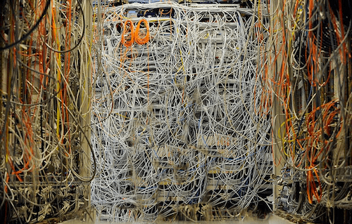 An example of a Cable Server Disaster.