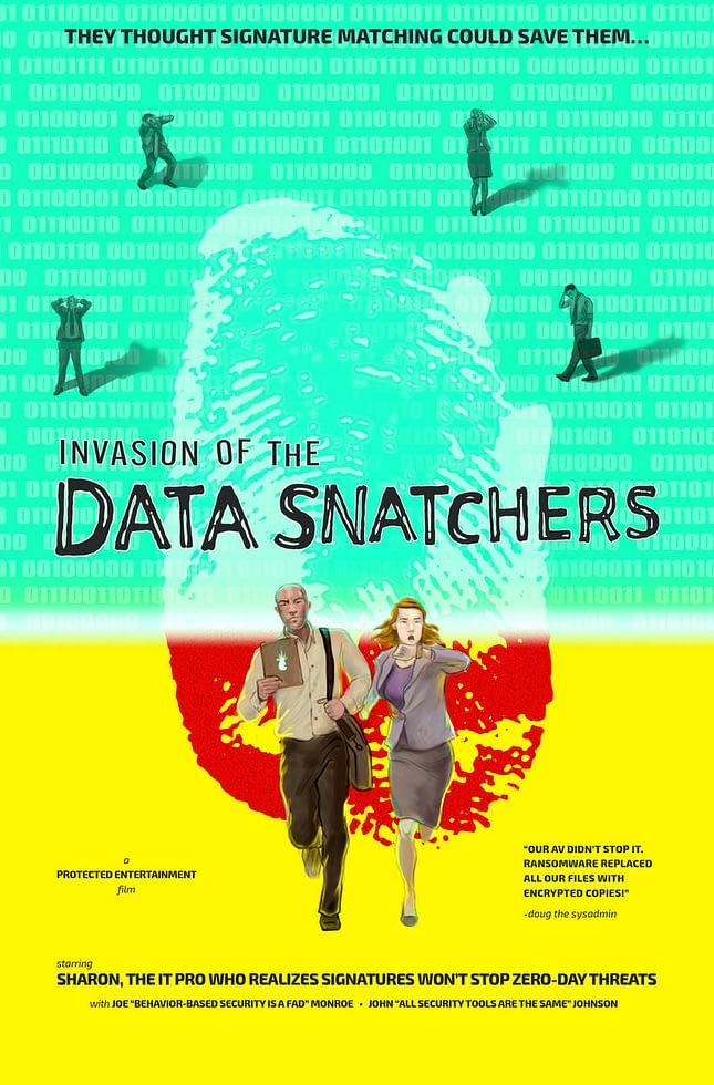 SysAdmin Halloween: Invasion Data Snatchers