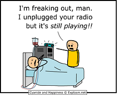 pull the plug - Cyanide and Happiness