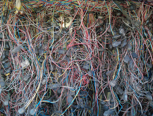 A total data center cabling disaster.