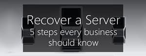 recover a windows server