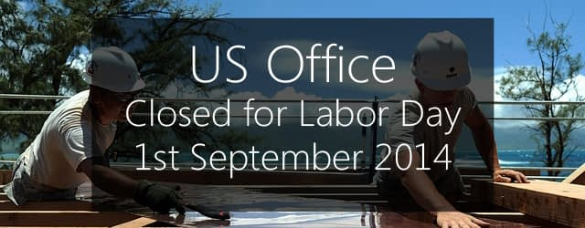closed for labor day 2014