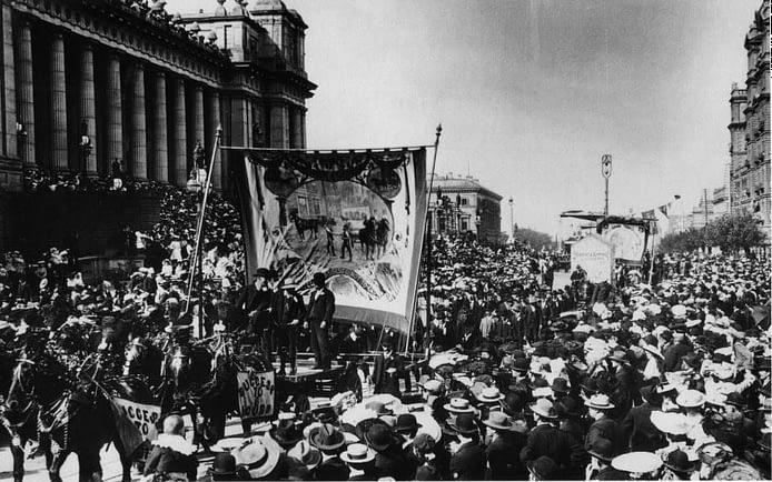 The Melbourne 8-hour March: Melbourne, 21 April, 1856