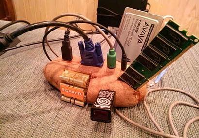 potato computer funny