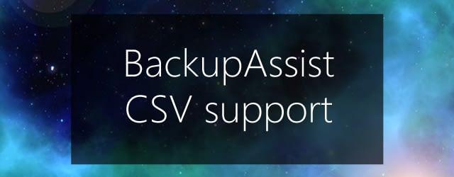 csv support2