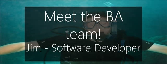 Meet Jim - Backup software developer