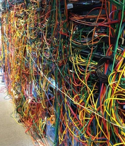This is the worst management of your wires possible.